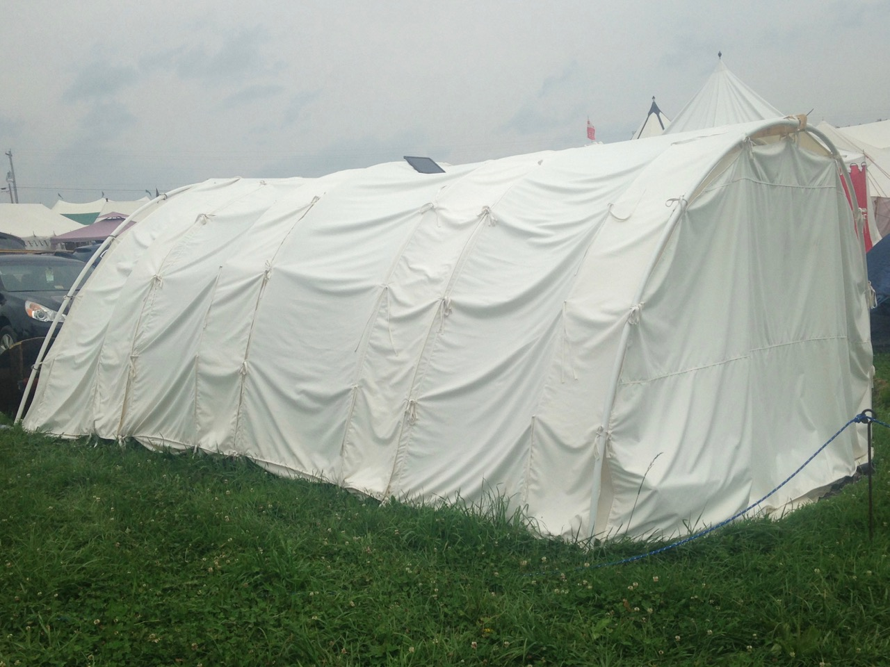 A Bender Tent – Making A Few Simple Things